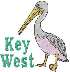 design west embroidery key west pelican embroidery designs machine embroidery