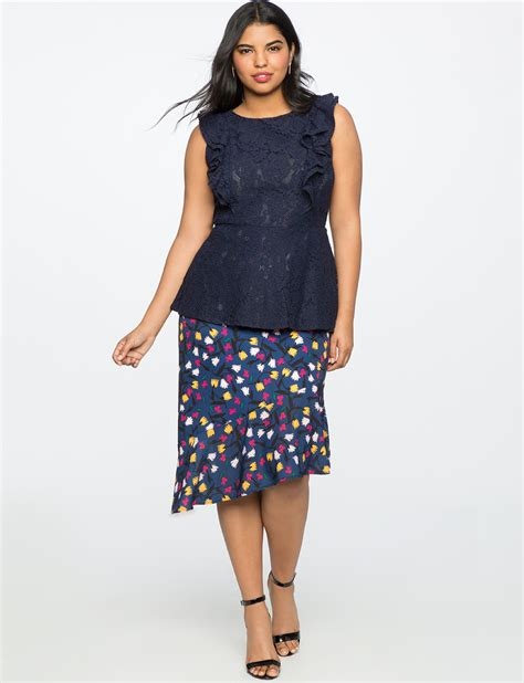 Side Slit Pencil Skirt printed pencil skirt with side slit s plus size