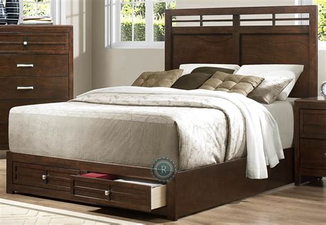 california king storage bed greenfield cal king storage bed from homelegance 2158k