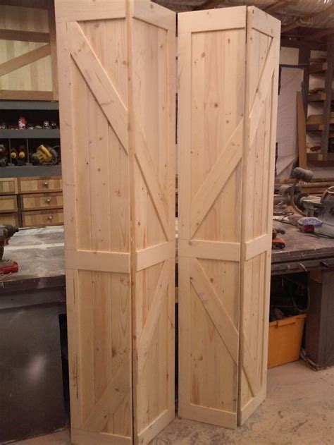 bi fold barn doors replace  existing louvered laundry