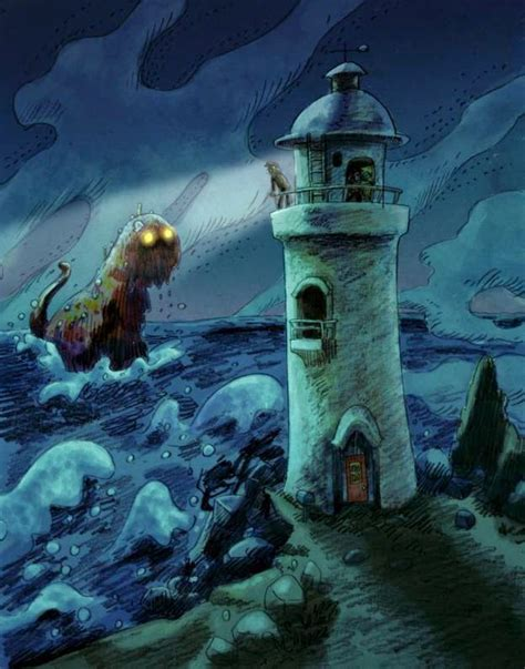 lay monster town a scary and awesome tower defense none scary words every lighthouse keeper knows