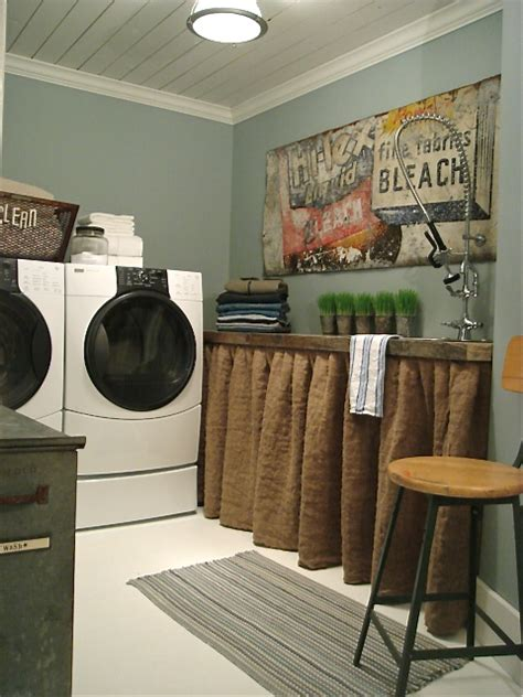 Country Laundry Room Decorating Ideas Vintage Laundry Room Decor Rumah Minimalis
