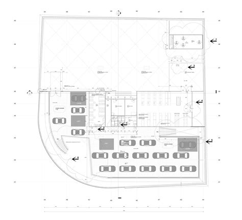 car showroom floor plan gallery of ekris showroom onl 48