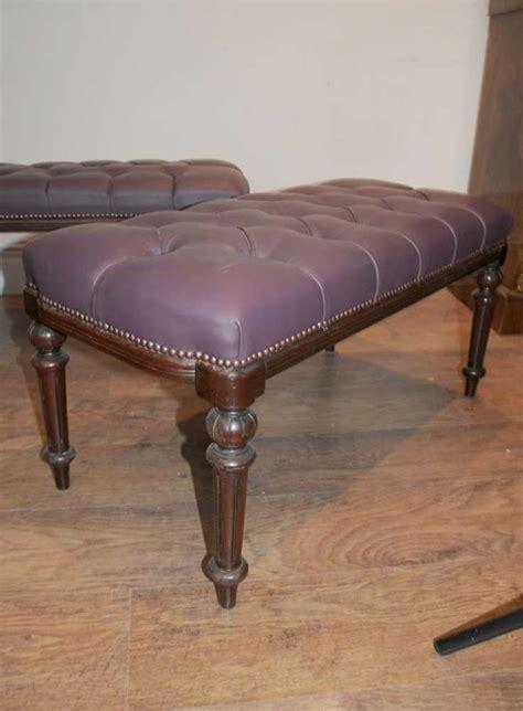 mahogany bench seat pair regency mahogany piano stools bench seats ebay