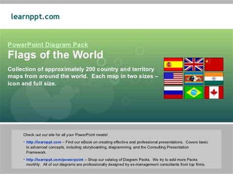 Flags Of The World In Powerpoint Flags Of The World Powerpoint