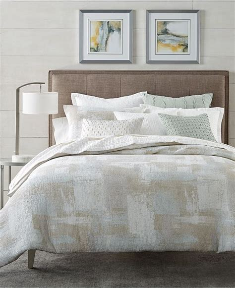 Macy Bed by Hotel Collection Brushstroke Bedding Collection Created