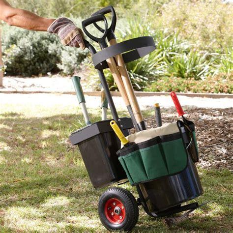 Garden Equipment Accessories by Garden Accessories Portable Garden Tool Trolley With
