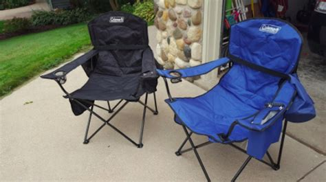 coleman oversized chair with cooler blue coleman oversized chair with cooler only 14 43