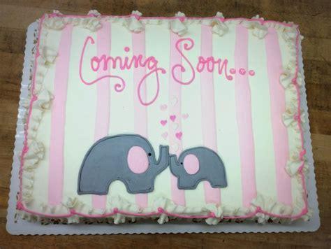 Sheet Cake with Elephants and Stripes ? Trefzger's Bakery
