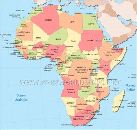 mapa dafrica politic mapa de 193 frica maps africa