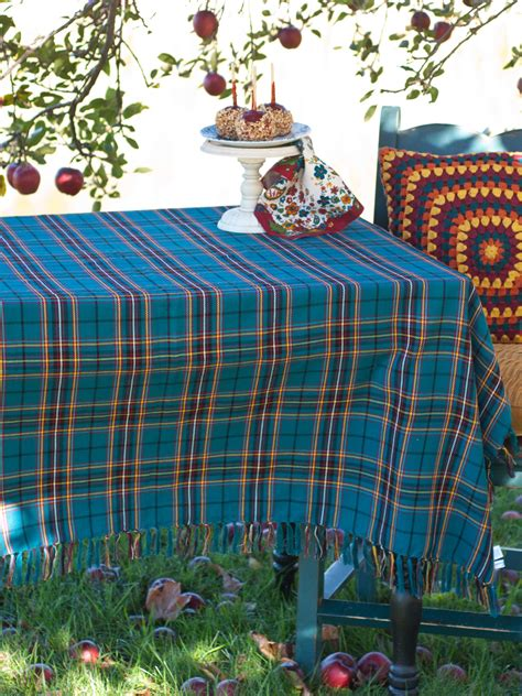 To Market Recap Cground Tablecloth by Market Plaid Tablecloth Table Linens Kitchen