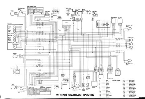 2007 yamaha virago 250 service manual wiring diagrams