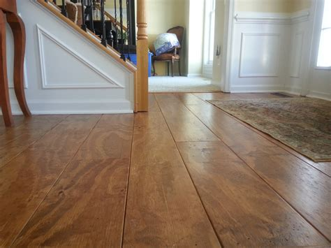 wide plank distressed pine flooring cheap updated    addictedprojects