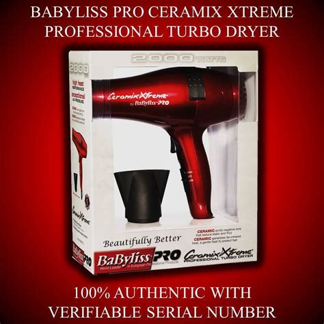 Titanium Xtreme Hair Dryer By Babyliss Pro new babyliss pro ceramix xtreme 2000 watt ceramic