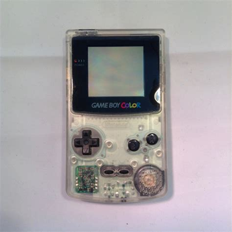 gameboy console nintendo gameboy color console clear retroplayers