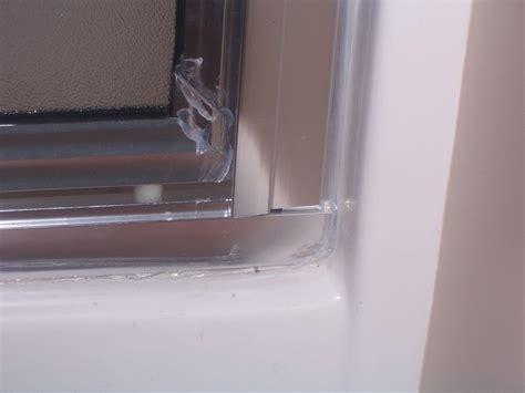 Caulking A Shower Door by Put The Caulk Gun Now Windows Siding And