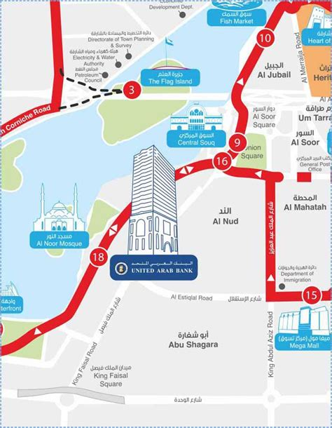 Office Location by Office Location Map United Arab Bank