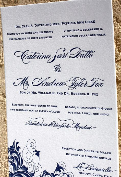 Bilingual Wedding Invitations Wording Your Wedding Invitation Design Letterpress Wedding Bilingual Wedding Invitation Templates