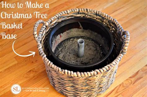 basket tree stand 17 best ideas about artificial tree stand on