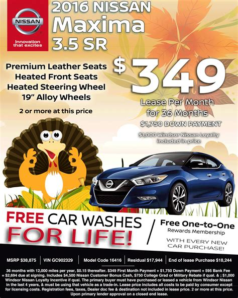 nissan lease deals nj new nissan special lease deals in nj special nissan html