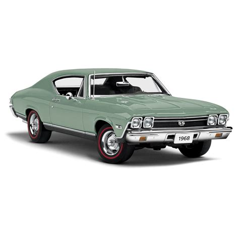 1968 Chevy Chevelle Ss 396 Ertl American 1 18 Scale Die Cast danbury mint 1968 chevrolet chevelle ss 396 grecian green 8082 0053 in 1 24 scale mdiecast