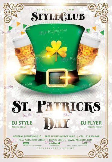 saint patricks day flyer template by mari_pazhyna graphicriver