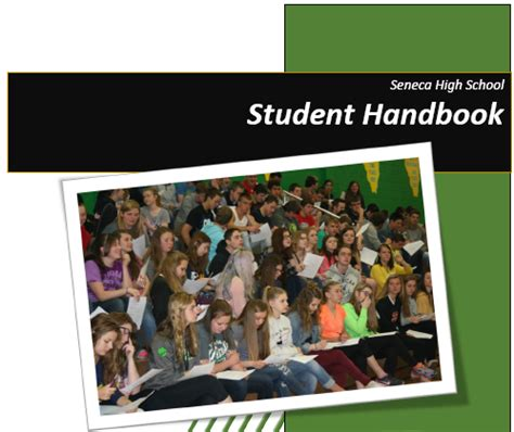 High School Student Handbook Template