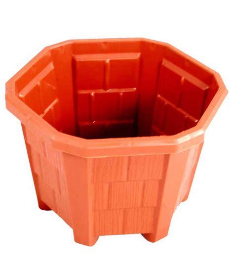 Plastic Pots Nelesa Gardening Designer Plant Pots Hexagonal Plastic