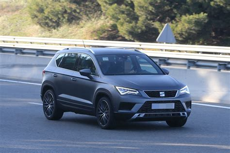 seat ateca seat ateca cupra spied in full view while testing in spain