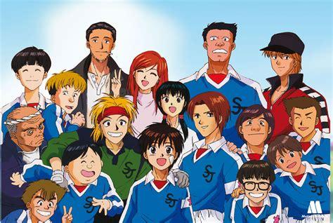 anime sepak bola romance seri manga whistle karya daisuke higuchi berlanjut di