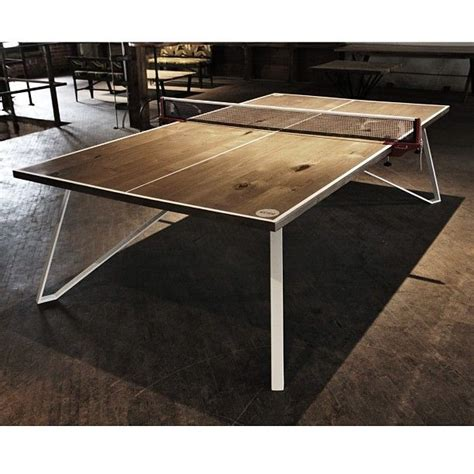 designer ping pong table pin by design byproxy on cool thangs