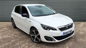 Peugeot 308 White Used Peugeot 308 Hatchback 1 6 Bluehdi Gt Line 5dr Start