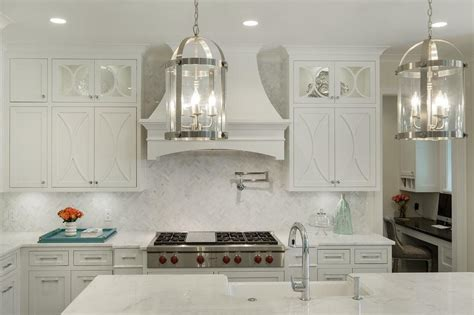 Kitchen Backsplash Mural off white kitchen cabinets design ideas