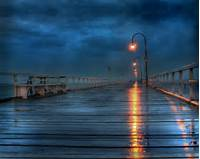 Beautiful Places Images Rainy Deck HD Wallpaper And Background Photos