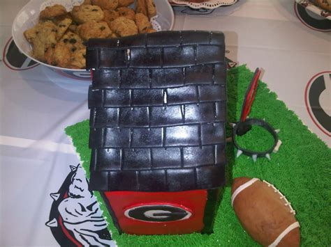 uga dawg house uga quot dawg quot house cakecentral com