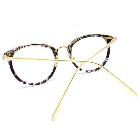 frame kacamata wanita cat eye purple jakartanotebook