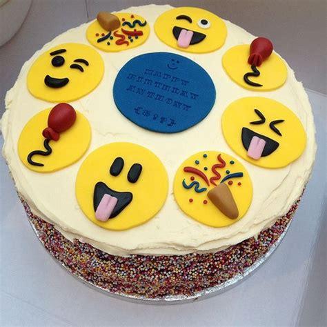 imagenes de tortas asombrosas pasteles de emojis tortas de emoticones para cumplea 241 os