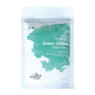 Herbilogy Green Coffee by Harga Herbilogy Green Coffee Extract Powder 100gr