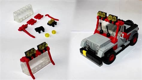 Jeep Wrangler From Jurassic Park Instructions Youtube