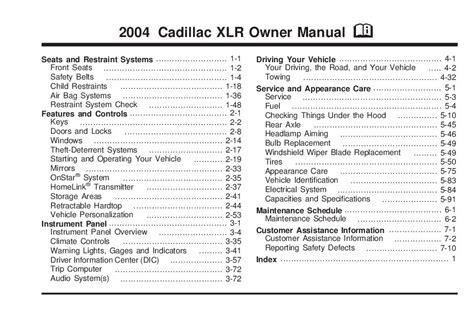 online service manuals 2007 cadillac xlr v parental controls service manual 2004 cadillac xlr wiring diagram pdf oem wiring harness 2004 cadillac srx oem