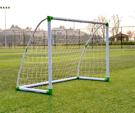 xy s182a 6 4 quick play cheap plastic soccer goal for