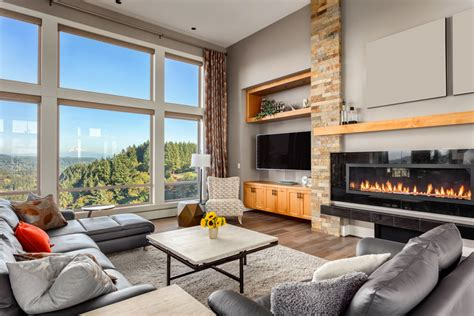 Grey Living Room With Fireplace 50 Living Rooms Beautiful Decorating Designs