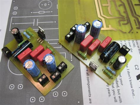 diy circuit board projects diy tda2050 hi fi chip lifier chip