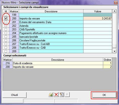 quanti contanti si possono versare in gbsoftware sai quanti clienti devono pagare al 20 agosto