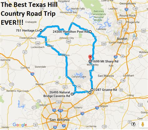 map hill country texas the ultimate texas hill country road trip is right here and you ll want to take it texas