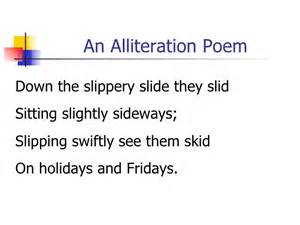 alliteration poem template poetry