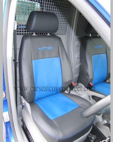 vw caddy back seats volkswagen vw caddy black blue seat covers custom