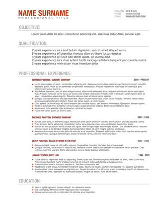 Resume Template For Australia by Cv Templates Australia Http Webdesign14