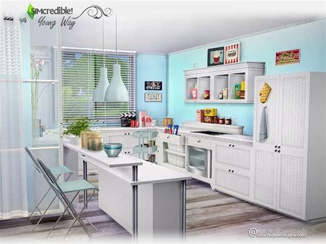 sims 3 kitchen ideas simcredible s way kitchen