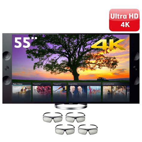 55 Tv 3d smart tv 3d led 55 4k sony xbr 55x905a motionflow xr